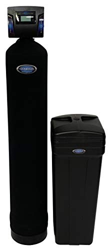 Discount Water Softeners Genesis Revolution 40,000 Grain Water Softener – Digital Metered -Maximum Flow Rate, High Efficiency Up Flow