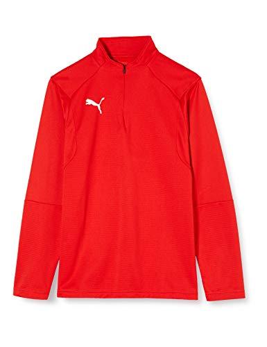 PUMA Liga Training Veste de survêtement Enfant Puma Rouge/Puma Blanc FR : Taille Unique (Taille Fabricant : 164)