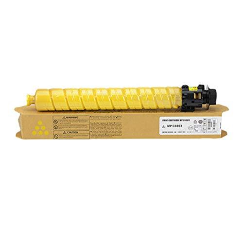 Cartucho de tóner compatible para impresora láser Ricoh MP C4503, C5503, C6503, C4504, C6003, C6004, C6004SP, color amarillo