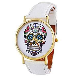 XBY.mi 1PCS White Fashion Romantic Watch Taro Punk - Orologio da Donna