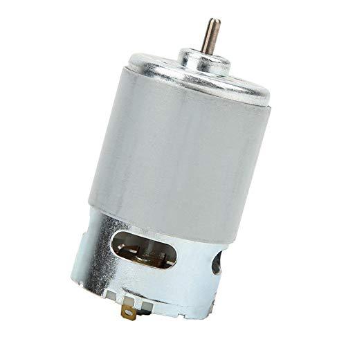 RS-550 Mikromotor DC 12-24 V 22000 U/min Getriebemotor 12-24 V Mikromotor Nenndrehzahl für verschiedene kabellose elektrische Handbohrmaschinen