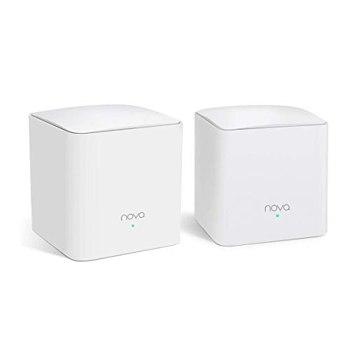 Tenda MW5S Sistemas WiFi Mesh AC1200 Router Dual Banda para 100-300㎡ Casas Pack2
