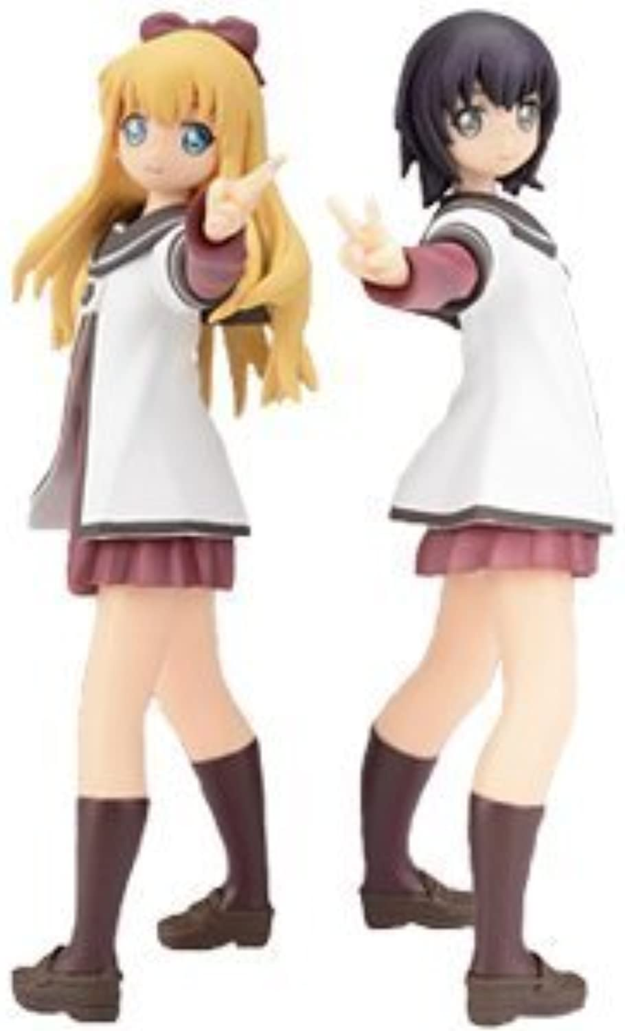 The prize Sega student uniform anime grade 2 section ease your high-grade figure Yuruyuri (all two full set) (japan import)