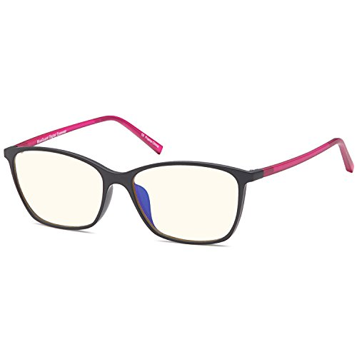 TRUST OPTICS Blue Light Blocking Glasses for Women - Anti Eye Strain UV Glare of Digital Screens n Fluorescent Light - Ladies TV Video Gaming Computer Glasses