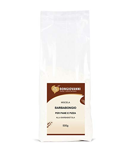 Bongiovanni Farine e Bontà Naturali - BarbaBongio Miscela di Farina tipo 1, Barbabietola Disidratata, Pasta Acida e Farina di Frumento Maltata - Formato da 500g
