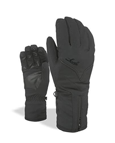Level Damen Liberty W Gore-Tex Handschuhe, Black, 7
