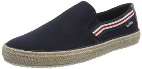 s.Oliver Herren 5-5-14606-24 Slipper, Blau (Navy 805), 41