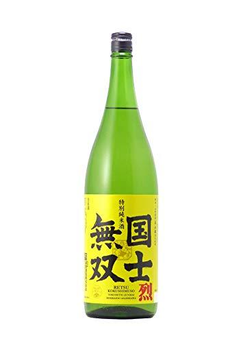 高砂酒造 特別純米酒 国士無双 烈 [ 日本酒 北海道 1800ml ]