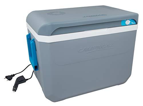 Campingaz Powerbox Plus Thermoelektrische 12V/230 V Kühlbox, Hochleistungs-Kühlbox Auto, mit UV Schutz, 36 Liter