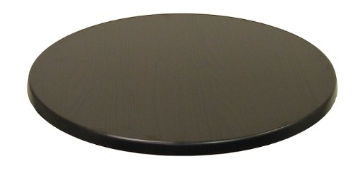 """ATC Werzalit Wood-Look Table Top, 24"""" D, Wenge (Pack of 2)"""
