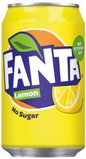 1 x 24 Fanta Zero Lemon (24 x 0,33 L lattine) con FiveStar penna gratuita