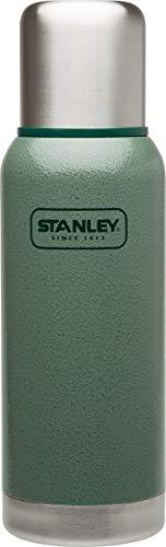 Stanley Adventure Vakuum-Thermosflasche 0.75 Liter, 18/8 Edelstahl, integrierter Thermobecher, Doppelwandige Isolierung, Isolierflasche Thermoskanne