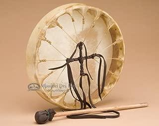 Deer Skin Native American Hoop Drum 10
