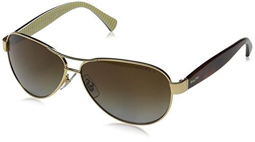 Ralph Lauren RALPH BY Ra4096 Gafas de sol, Gold, 59 para Mujer