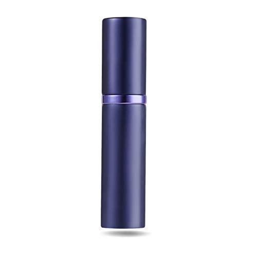 アトマイザ- 詰め替え AsaNana ポータブル クイック 香水噴霧器 携帯用 詰め替え容器 香水用 ワンタッチ補充 香水スプレー パフューム Quick Atomizer プシュ式 (パープル Purple)