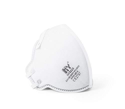 SolidWork 5er Set FFP2 Atemschutzmasken | Masken für Mund- und Nasenschutz | Einzeln verpackte Schutzmasken | Feinstaubmaske, Staubschutzmaske, Staubmaske