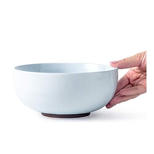 LHBNH Ciotola in Stile Giapponese Noodle Ciotola di minestra Ciotola Ceramica for Usi Domestici Ciotola stoviglie zuppiera Articoli per la tavola delle Famiglie, Ciotola ret