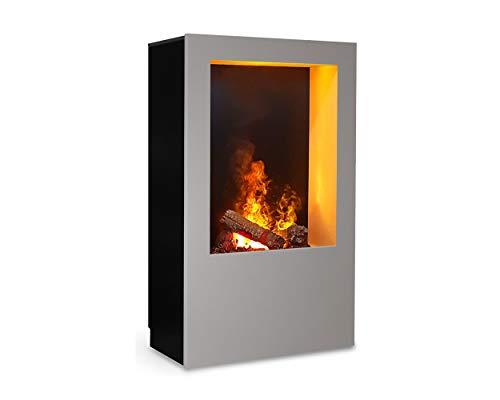 Magma Infrarot-Kaminofen 08, Optimyst Elektrofeuer mit echter Wärme, funkgesteuert