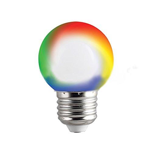 bombilla LED E27Mini RGB Multicolor cromoterapia 230V Juegos Luz decorativa