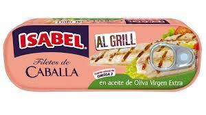 Filete de Caballa al Natural al Grill Isabel