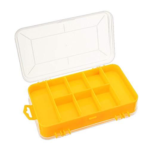 XCQ Double Tool Box Elektronische Kunststoffteile Werkzeugkasten-SMD SMT SMT-Schraubkomponenten Aufbewahrungsbox dauerhaft 0328