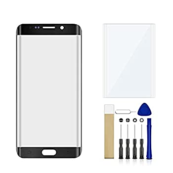 for Samsung Galaxy S6 Edge Plus SM-G928V Front Outer Glass Lens Screen Replacement Repair Tool Kit No LCD Touch & Digitizer