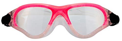 SCHREUDERS SPORT Kinder Waimea Polycarbonat Total View Schwimmbrille, Kinder, Waimea, Transparent/Pink, Einheitsgröße