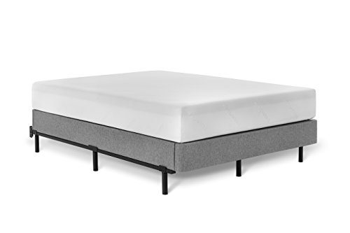 Tuft & Needle Metal Base Bed Frame for King Mattress Simple Tool-Less Assembly | Powder-Coated Black Steel | 5-Year Warranty