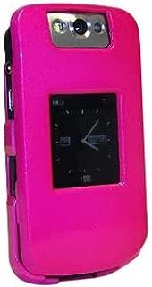 Amzer Polished Snap-On Crystal Hard Case for BlackBerry Pearl Flip 8220/8230 - Hot Pink