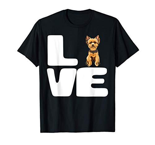Amo Il Mio Yorkshire Terrier Maglietta