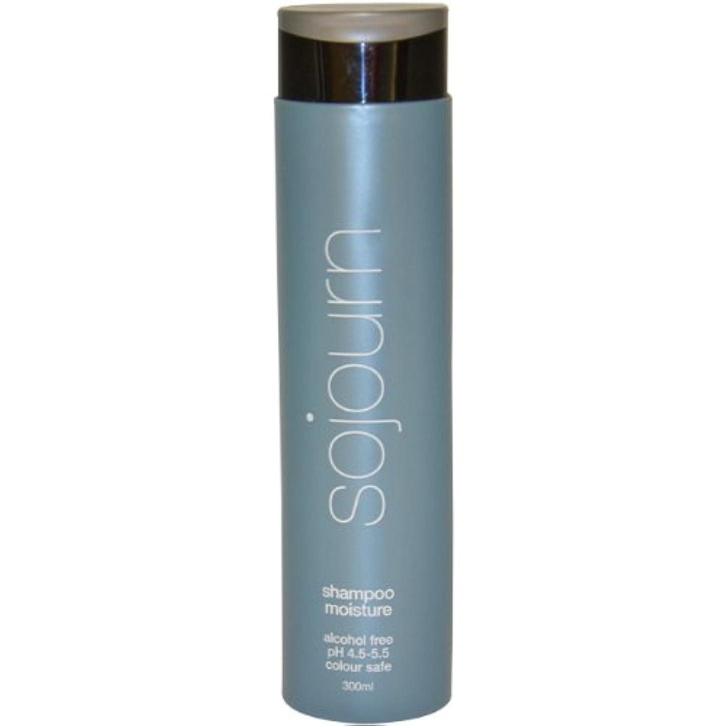 前置詞敵対的発症sojourn ノーマル、ドライ、カーリーまたは厚い毛に最適な水分補給での滞在モイスチャーシャンプー、(300ミリリットル/ 10.1オンス)カラー金庫は、専門のサロンが推奨します 300ミリリットル/ 10.1オンス