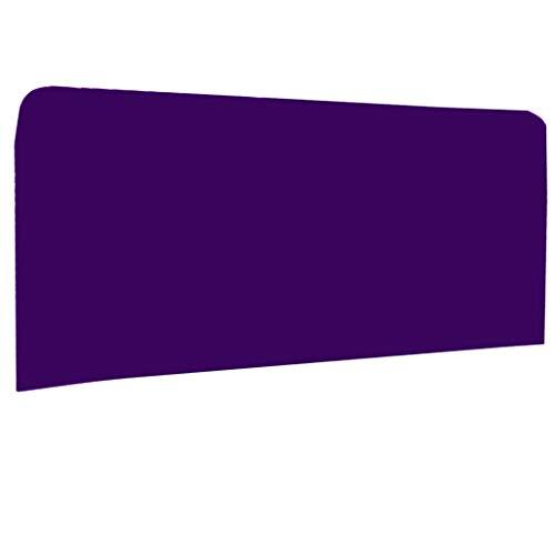 Amuzocity - Funda para cabecero de cama (140 - 170 cm), Morado oscuro, 150x80cm