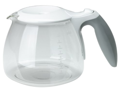 Braun KFK500-WH AromaDeluxe 10-Cup Replacement Carafe, White
