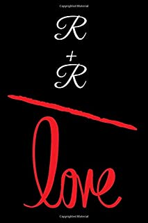 R+R=LOVE: Small Bride Journal for Notes, Thoughts, Ideas, Reminders, Lists to do, Planning, Funny Bride-to-Be or Engagement Gift