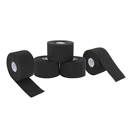 Anself 5 rollos desechables para protección del cuello tiras de papel volantes para el cuellorollo de papel profesional para corte de cabello