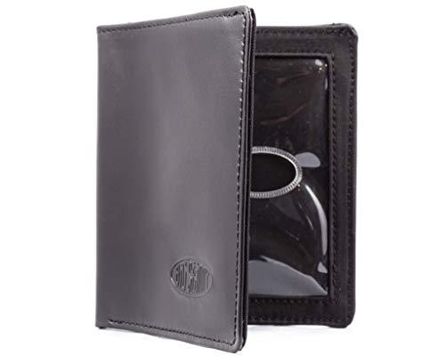 Big Skinny Men's Leather Metro Bifold Wallet