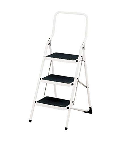 ORYX 23010102 Escalerilla Acero 3 Peldaños Uso Doméstico Plus
