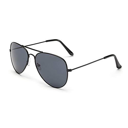 YTYASO Gafas de Sol de piloto para Hombre Gafas de Sol de piloto para Mujer Gafas de Sol de Espejo Negro para Hombre
