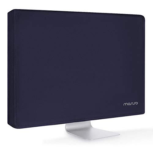MOSISO Coperchio in Poliestere Antiurto per Monitor 19/19,5/20/21/20,5 Pollici,Schermo LCD Anti-Statico/LED/Custodia Protettiva Compatibile 19-21 Pollici iMac,PC,Computer Desktop&TV, Navy Blue