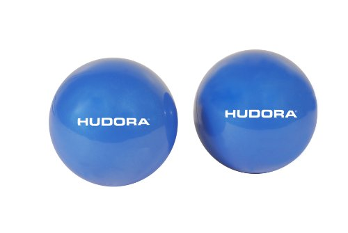 HUDORA Fitness Pilates Softbälle, Blau, 76740