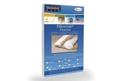 Anti punaise Housse de protection pour oreillers anti punaises de lit anti acariens 65 x 65