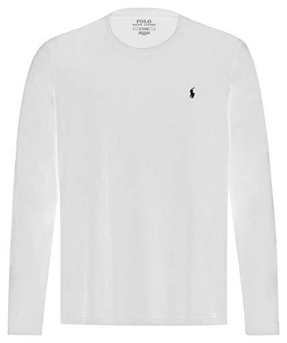 Ralph Lauren Herren Langarm Shirt Weiß M