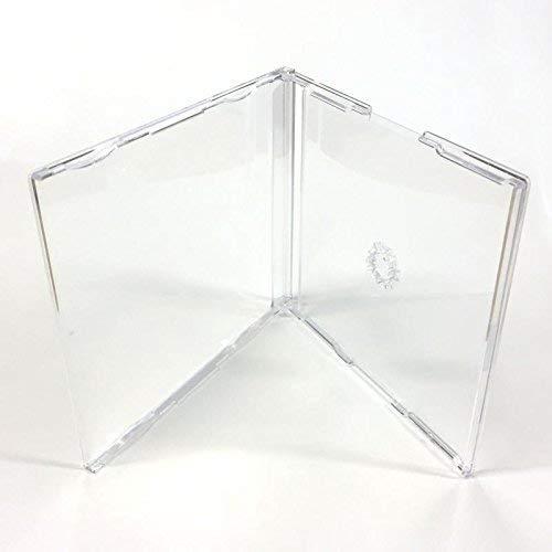 Klare CD-Hüllen, Maxi-Single, 6mm Rücken, CD-Jewelcase von DragonTrading, 10 Stück