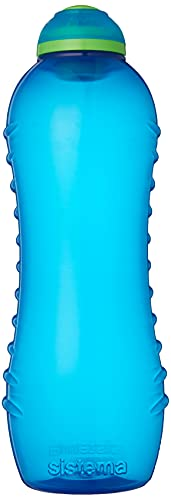 Sistema Twist 'N' Sip - Bottiglia Unisex da 620ml, Colore: Blu