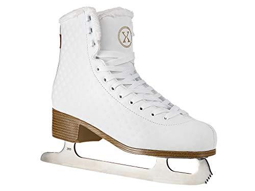 NILS Damen Eiskunstlauf Schlittschuhe Figure NF14619 S (24.8, 39)
