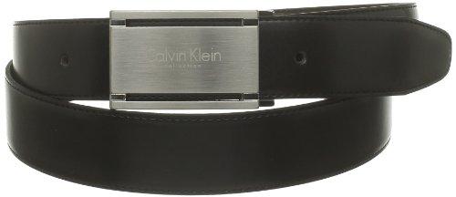 Calvin Klein Herren CEINTURES CK COLLECTION Gürtel, Schwarz - Schwarz, one size