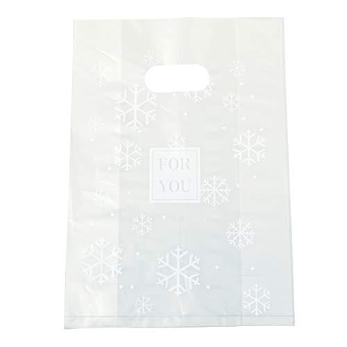 Amosfun 50 Piezas de Bolsas de plástico con asa para Compras al...