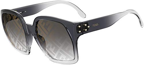 FENDI Gafas de Sol DAWN FF 0404/S GREY/GREY SHADED 58/23/135 mujer