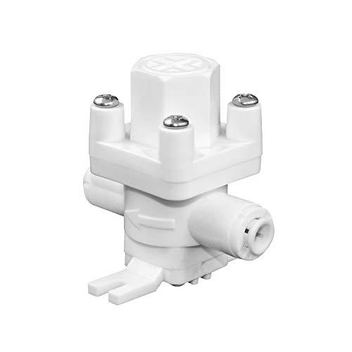 QWORK RO Riduttore di pressione , 6.5mm   1 4   Attacco rapido Regolatore di montaggio per sistema ad osmosi inversa , RO Depuratore di Acqua Parti