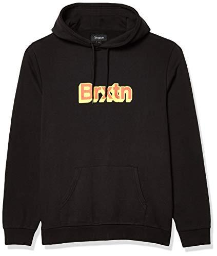 BRIXTON Herren Gate Hood Hemd, schwarz, X-Large